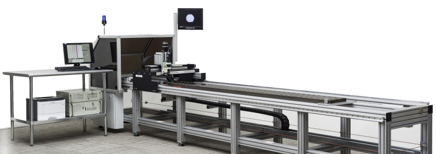 "Success and experience in the filament and fiber industries""  to ""Aspex Incorporated  introduces a Floor Standing SpinTrak™ Model for Spunbond, Meltblown and Staple fiber Die Inspection"