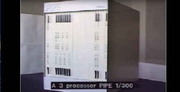 The PIPE, old-school real-time image processing